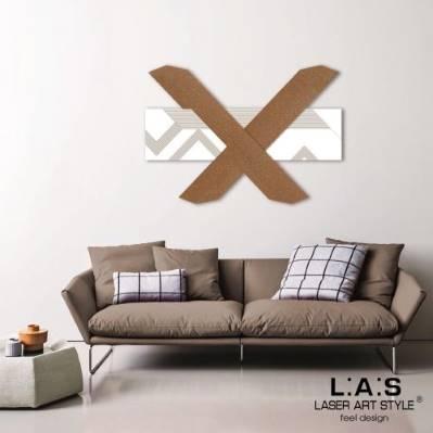 Pannello moderno con disegni geometrici - Laser Art Style
