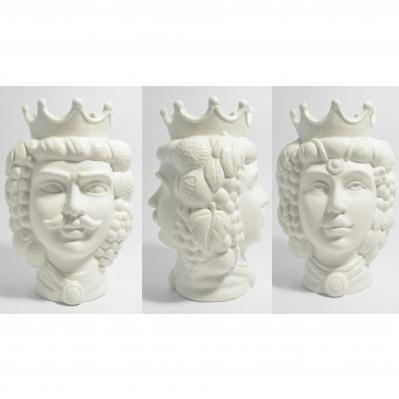 Vaso Testa di moro in ceramica - Collezione 2020