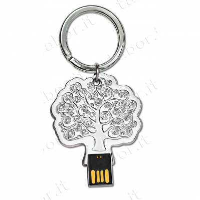Portachiavi albero USB con scatola