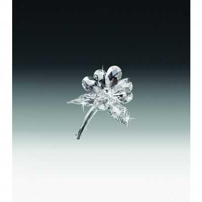 Tralcio un fiore in cristallo - RANOLDI