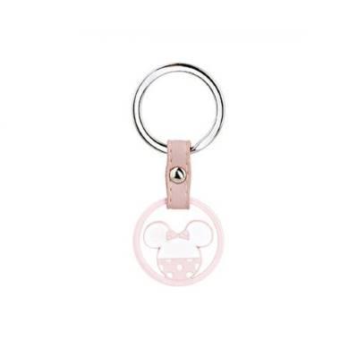 Bomboniera Disney in resina Minnie rosa portachiavi