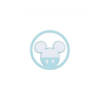 Bomboniera Disney in resina topolino azzurro tondino