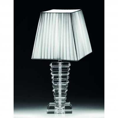 Lampada in cristallo da tavolo stile scala - RANOLDI