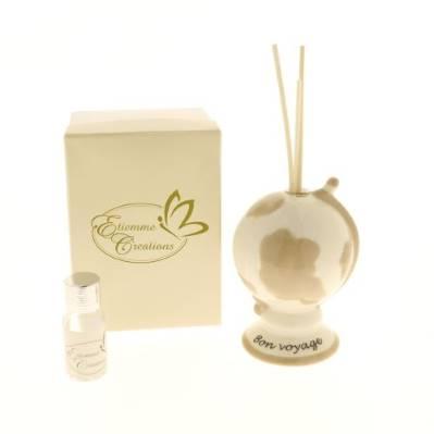 Mappamondo diffusore profumo H. 11cm