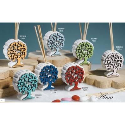 Diffusore di fragranza con Albero della Vita colorato - Alma