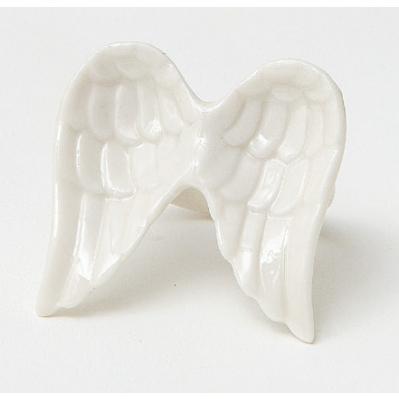 Anello ali in porcellana