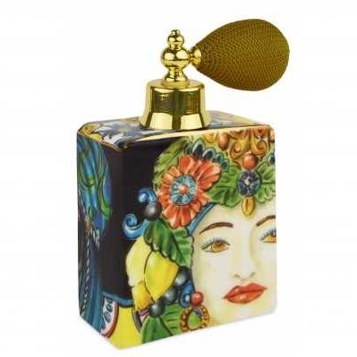 Bottiglia spray da collezione sicilia oro Baroque&Rock - Baci Milano