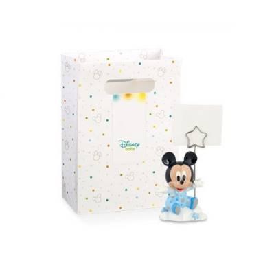 Bomboniera Disney in resina topolino azzurro segnaposto