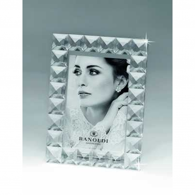 Cornice portafoto in cristallo rombo - RANOLDI