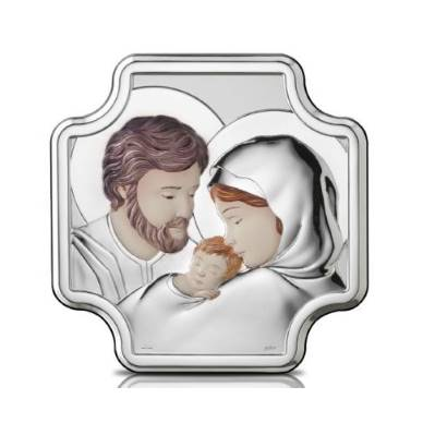 Capezzale Sacra Famiglia linea Sacri argentato - Atelier