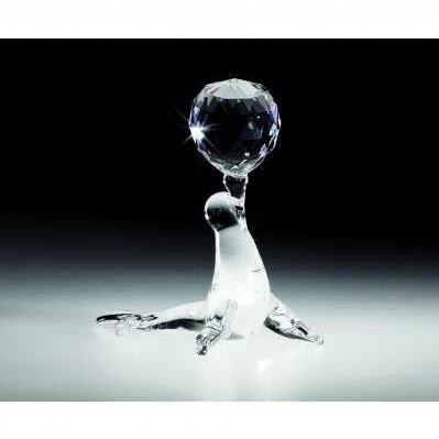 Foca pallina in cristallo - RANOLDI