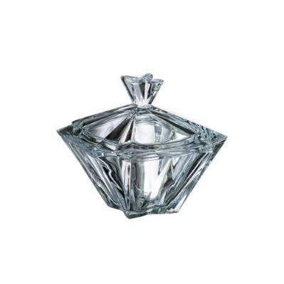 Scatola con coperchio in cristallo Metropolitan 22 cm