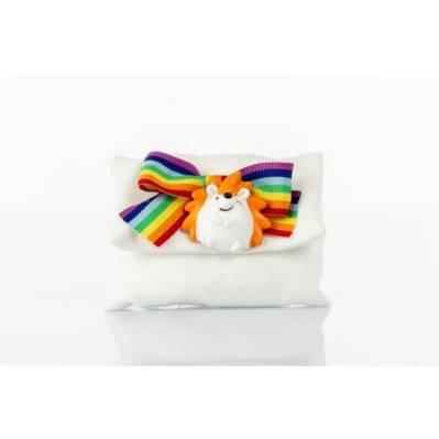 Sacchetto porta confetti multicolore Riccio - BOMBONIERE SOLIDALI