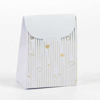 Scatolina bustina portaconfetti nozze d'oro