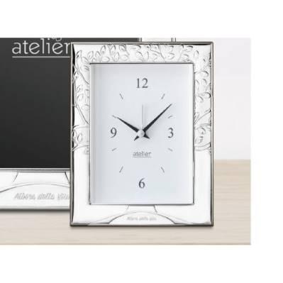Sveglia linea Albero della Vita argentata - Atelier