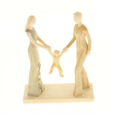 Statuetta Famiglia 3 elementi