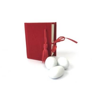 Scatolina laurea libro rosso