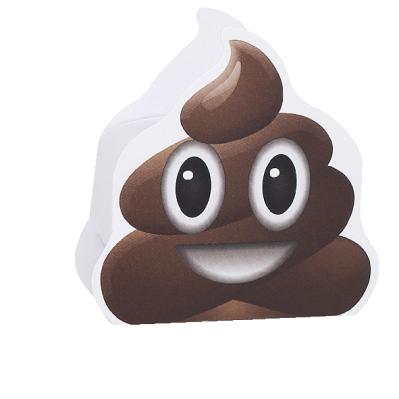 Scatolina portaconfetti cilindrica emoji cacchina