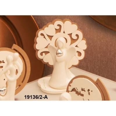 Statua Angelo con Albero della Vita