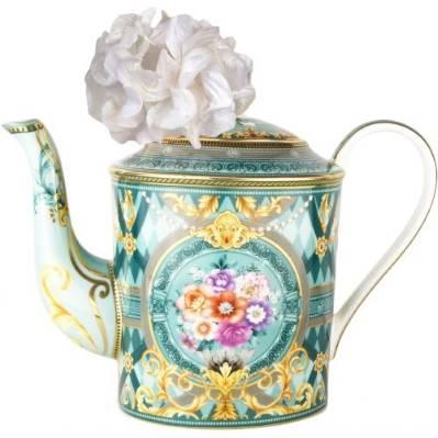 Diffusore teiera da collezione MAROC & ROLL - GARDEN IN BLUE Baci Milano