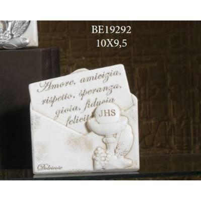 Pannello scritte con Calice Comunione busta - Maria