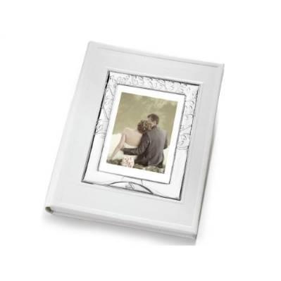 Album con Portafoto esterno linea Albero della vita Matrimonio argentato - Atelier