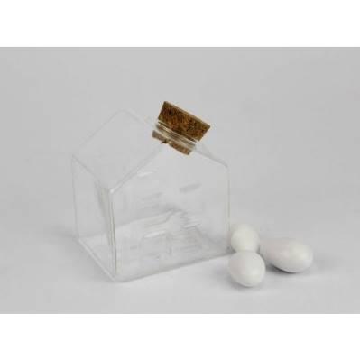 Casetta vuota vetro Portaconfetti