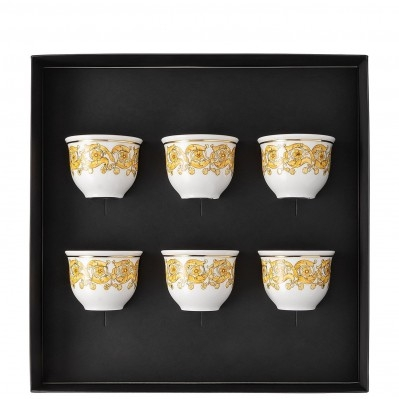 Versace Medusa Rhapsody Set 6 bicchiere piccolo senza manico