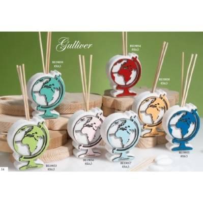 Diffusore di fragranza con mappa mondo - Gulliver