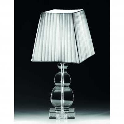 Lampada in cristallo da tavolo stile bottiglia - RANOLDI