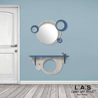 Specchiera Moderna a cerchi