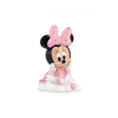 Bomboniera Disney in resina Minnie rosa su nuvola