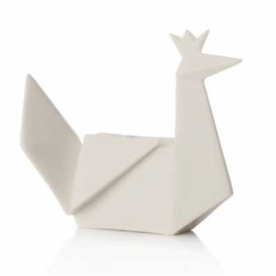 Origami pavone - porcellana