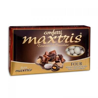 Confetti Maxtris Four cioccolato