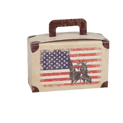 Valigia portaconfetti America + aereo