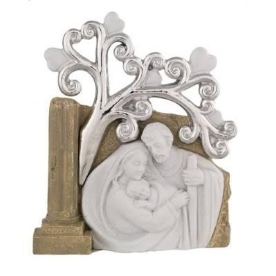 Bomboniera Sacra Famiglia con albero della vita - Bagutta
