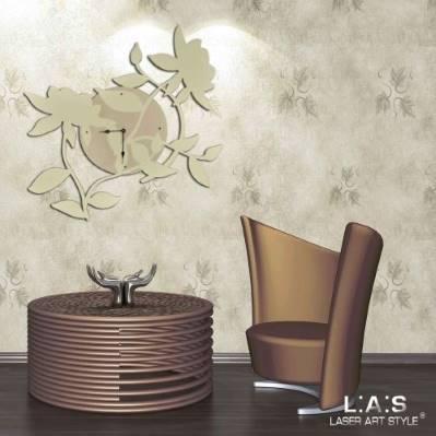 Orologio da parete astratto moderno - Laser Art Style