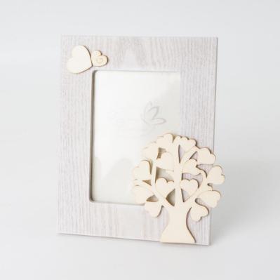 Cornice con albero della vita in legno