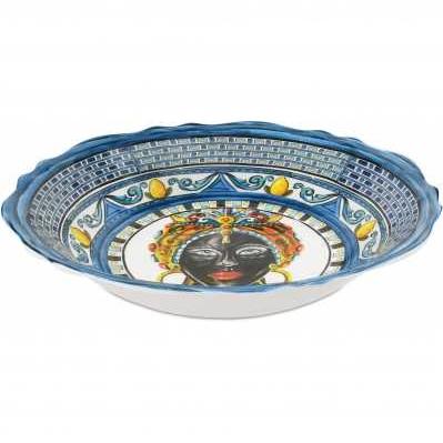 Centrotavola da collezione sicilia blu Baroque&Rock - Baci Milano