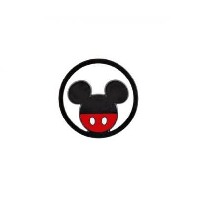 Bomboniera Disney in resina topolino rosso e nero tondino
