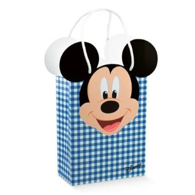 Shopper box Disney Mickey's Party Blu Piccola