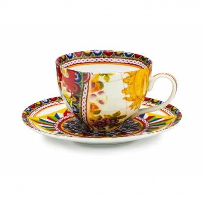 Set 2 tazze tè con piattino Santa Rosalia - Palais Royal
