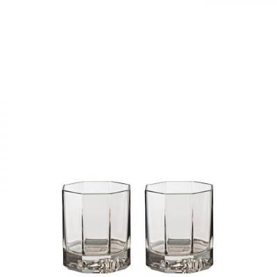 Set 2 Bicchieri Whisky MEDUSA LUMIERE HAZE Rosenthal Versace