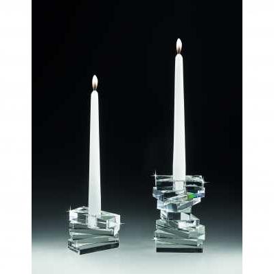 Candeliere segment in cristallo - RANOLDI