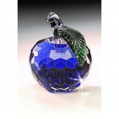 Frutta mela in cristallo blue - RANOLDI