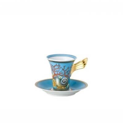 Tazza caffè alta LES TRESORS DE LA MER Rosenthal Versace I tesori del mare