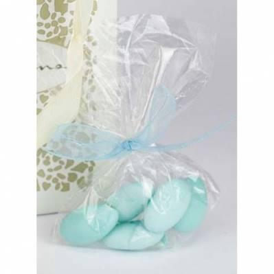 5 confetti mandorla bianco