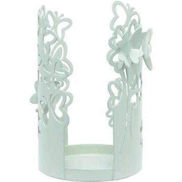 Portabicchieri farfalle metallo traforato - Collezione WALD