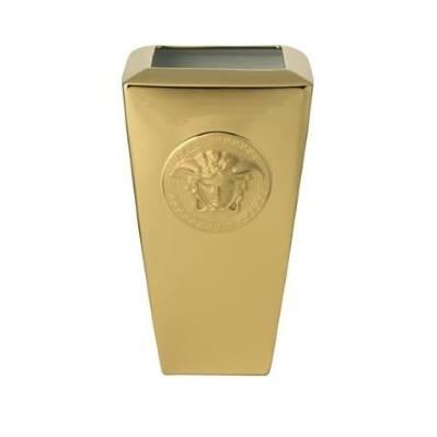 Vaso MEDUSA GOLD 24 cm Rosenthal Versace