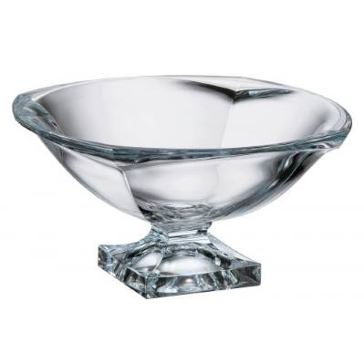 Centrotavola in cristallo Magma 34 cm